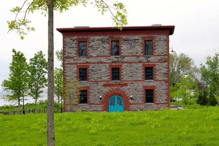 Laboratory in Southpoint Park, Roosevelt Island, May 2014